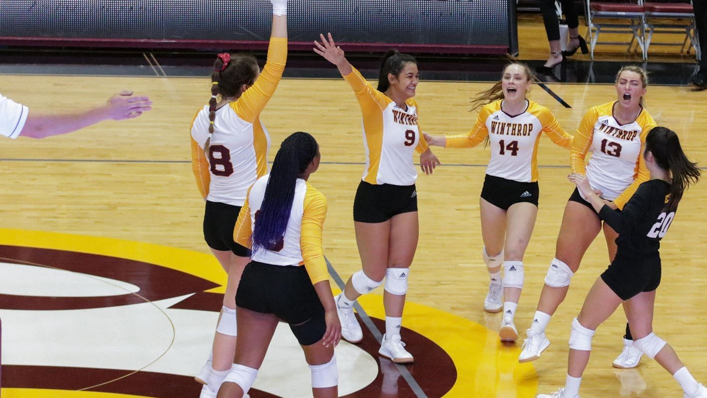 Volleyball Prepares For First Round Contest Against Washington Winthrop University Athletics