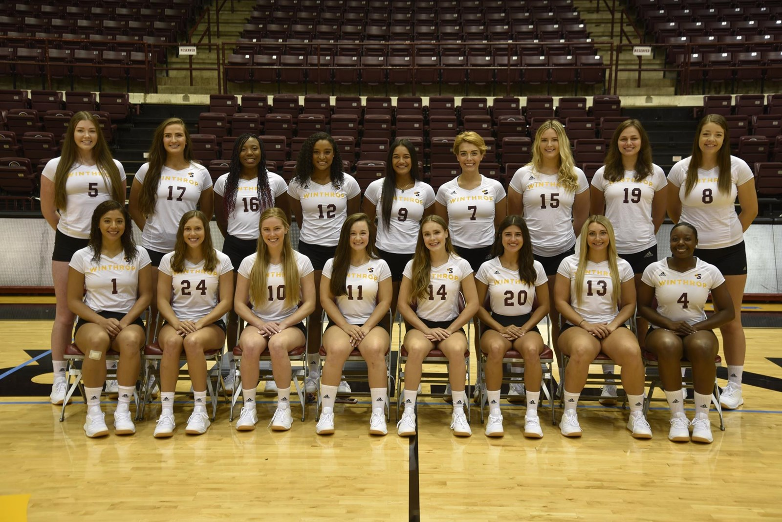 2019 Women S Volleyball Roster Winthrop University Athletics